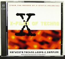 X-Files Of Techno - Samples & Loops - Ultra-Rare !