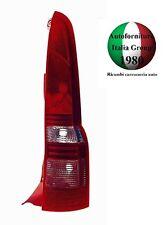FANALE FANALINO STOP POSTERIORE DESTRO DX CORPO ROSSO FIAT PANDA 03>11 2003>2011
