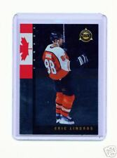 1997-98 PINNACLE MINT ERIC LINDROS MINTERNATIONAL CARD