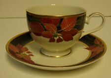 Mikasa CHRISTMAS EVE Cup Saucer Set BEST More Items Available MINT