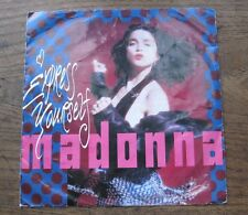 """VG+ MADONNA - Express yourself / The look of love   - VG+ 7"""" single P/S"""