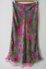 Anna Molinari silk skirt, size AUS 6-8, new