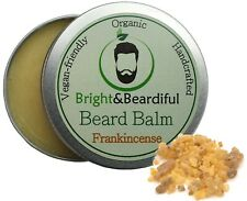 Frankincense Leave-in Beard Balm for Styling, Taming, Soften & Conditioning 30ml