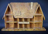 Ancien vintage baguier ,présentoir ou maison de poupées en bois
