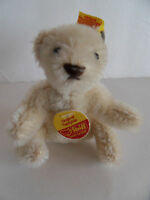 Steiff bear Teddy bear miniature mohair all   Ids Germany 2024