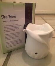 Scentsy Tea Rose Plug In Warmer