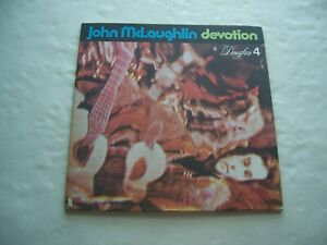 "jazz guitar JOHN McLAUGHLIN ""Devotion"" US early DOUGLAS lbl LP!!"