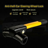 Anti Theft Car Van Steering Wheel Lock Security Rotary Steering Crook Lock Clamp