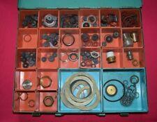 HAAS Metallkoffer mit diversen Dichtungen Heizung Sanitär (34)