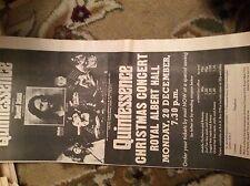 U1-7 ephemera 1971 original advert folded quintessence sweet jesus royal albert