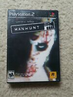 Sony Playstation PS2 Manhunt Complete CIB Black Label