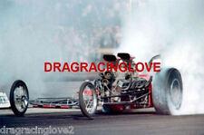 """Freight Train"" John Peters 1960s Bob Muravez ""TWIN"" Engine Gas Dragster PHOTO!"