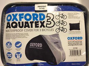 Oxford Aquatex Waterproof Bike Cover (1, 2 or 3 bike Option).