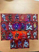 Tim Hortons 2020-21 Upper Deck Red Die Cut Hockey Cards (DC-1)