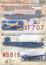 Print Scale Decals 1/72 AVRO SHACKLETON British Maritime Patrol Aircraft