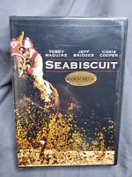 Seabiscuit DVD Widescreen 2003 SEALED