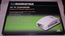 Manhattan Products 150095 PC to TV Converter 150095 NEW IN BOX
