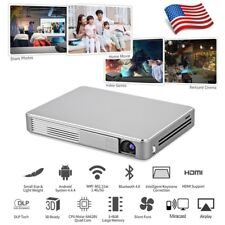 7000Lumens Android DLP 1080P 4K Wifi 3D Home Theater Projector Video Ciname HDMI