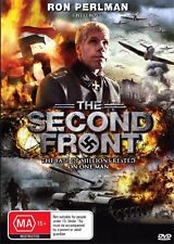 THE SECOND FRONT - RON PERLMAN - CLASSIC WAR - NEW & SEALED DVD