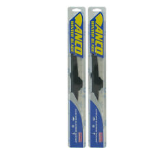 "2X Wiper Blades Fits COMMERCIAL CHASSIS-FRONT PAIR 22"" Length(30-22)-ANCO WINTER"