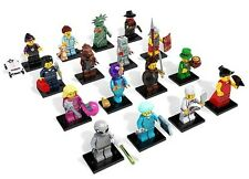 Lego 8827 Series 6 Set of 16 Minifigures Repacked Free Registered Mail