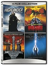 Highlander 4 Film Collection DVD