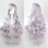 Womens Long / Short Wigs Curly Wavy Straight Costume Cosplay Party Hair Full Wig