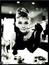 Nostalgic Art Magnet Audrey Hepburn mit Zigarette Breakfast Tiffany #