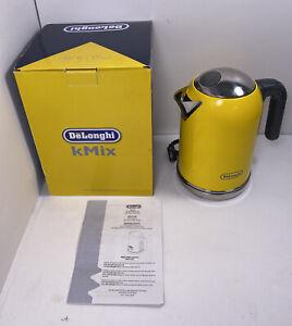 DeLonghi kMix Electric Kettle 1.6L DSJ04 Series- Yellow!