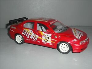 Bburago Alfa Romeo 156 Selenia Touring Car 1/24th scale
