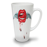 Angel Lip Stylish NEW White Tea Coffee Latte Mug 12 17 oz | Wellcoda
