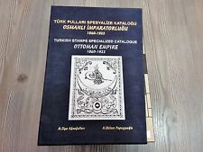 LIMITED E. TURKEY OTTOMAN STAMPS SPECIALISED CATALOGUE 1840-1922 ENGLISH TURKISH