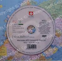 Mercedes Navigation Update DVD 2018/2019 NTG 1 E klass CLS SLK Green