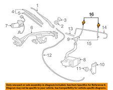 Pontiac GM OEM 04-06 GTO Wiper Washer-Windshield-Nozzle Spray Jet 92092007