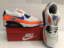Nike Air Max 90 Essential Weiß 42,5 Neu AJ1285-104  Herren Photo Blue