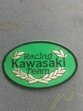patch thermocollant brodé racing team kawasaki ovale L 10cm