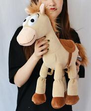 Disney Store Toy Story Woody Horse Bullseye Plush Toy Doll 55cm