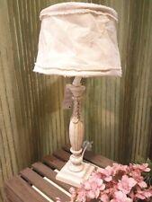 Große Lampe Clayre & Eef Shabby Chic Vintage Lampenschirm 62cm NEU E27