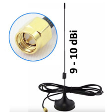 Omni Directional High Gain 9 dBi 2.4GHz Wireless Antenna with Magnetic Base 2.5m