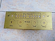 McIntosh C8 tube preamplifier face plate NEW