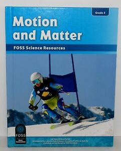 FOSS Science Resources Motion and Matter Grade 3 Student Textbook New SHIPS FREE