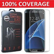 100% GENUINE VETRO TEMPERATO PELLICOLA protezione schermo LCD per Samsung Galaxy s7