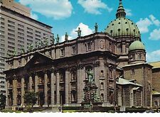 mary Queen of the World Cathedral Montreal Canada  Postcard Unused