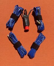20/40Meter 100 Watt Linked Dipole: Portable/Stealth/QRP HF Ham Radio Antenna