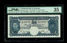 Australia | 5 Pound | 1949 | Pick#27c | Pmg-35