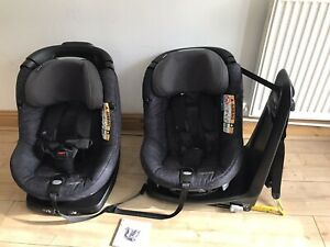 Maxi Cosi AxissFix Plus i-Size Car Seat- In Black Price For One Age 0-4years.