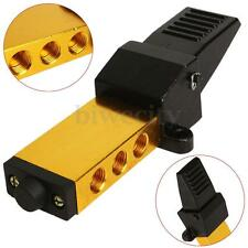 G 1/4'' K25R7-8 Air Pneumatic Foot Pedal Switch Manual Valve 2 Position 5 Way