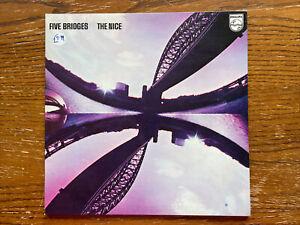 VINYL LP The Five Bridges Suite The Nice 1969 6459001 Ex/Ex French Release