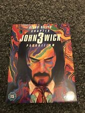 John Wick Chapter 3 4k Steelbook Parabellum Full Sleeve Plus Coin