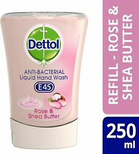 2 or 3  Dettol No-Touch Refill Honey Nourishing Rose&Shea Butter,Grpefruit 250ML